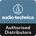 audiotechnica authorized distributor logo